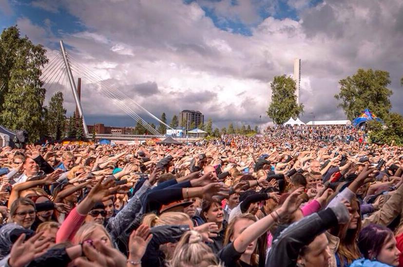 Suosituimmat musiikkitapahtumat Suomessa